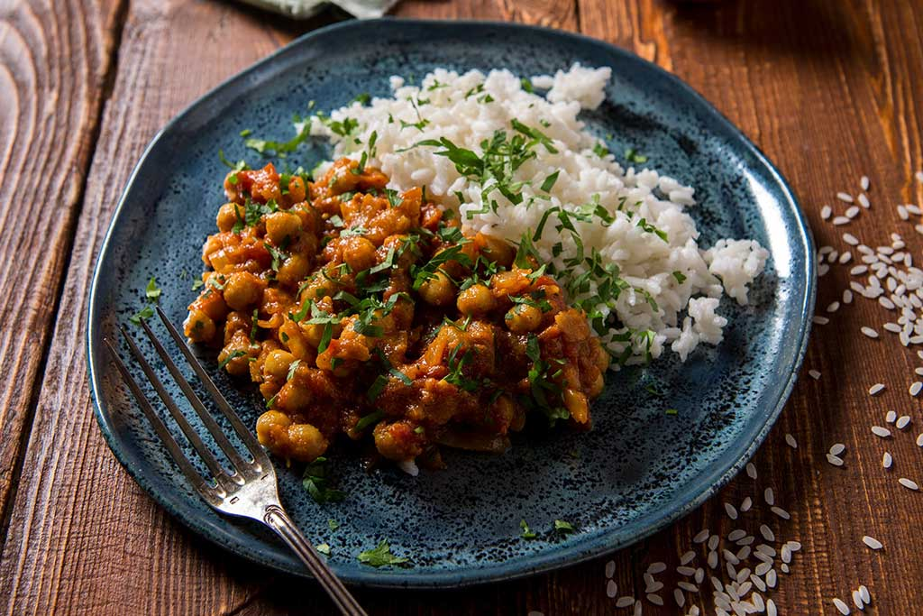 Aloo Gobi or Cauliflower Potato Curry