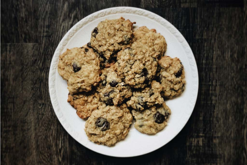 Chocolate Chip Cookies with Dried Figs
