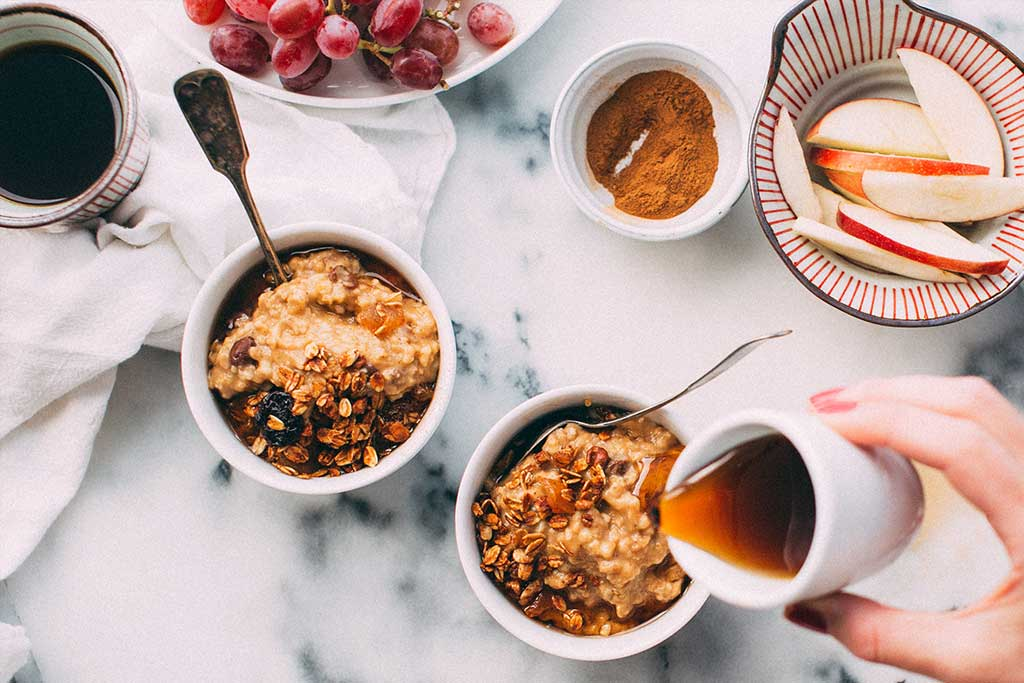 Homemade Maple Cinnamon Granola