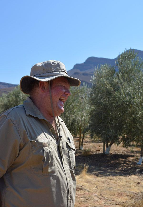 South Africa Olive Farmer