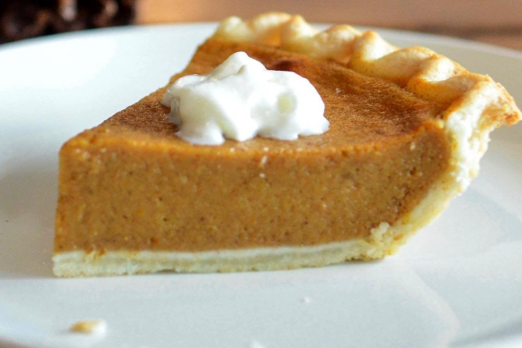Pumpkin Pie Slice